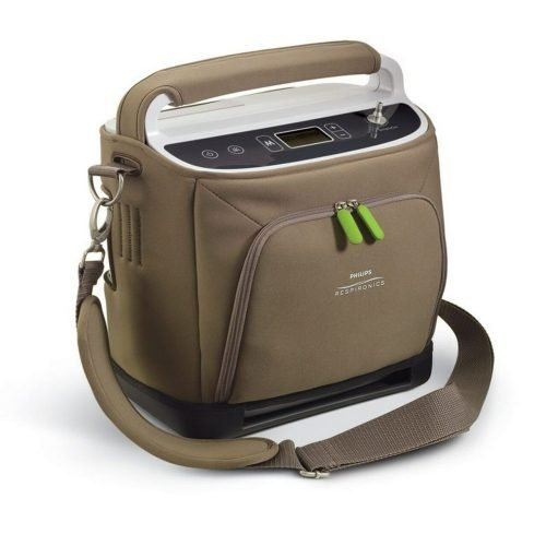 SimplyGo Portable Oxygen Concentrator with 2 Standard Batteries by Respironics